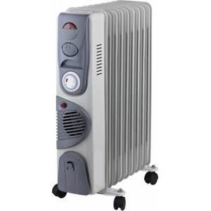 Calorifer Arielli SNYT RFT11 11 Elementi Ventilator Termostat Alb/Gri