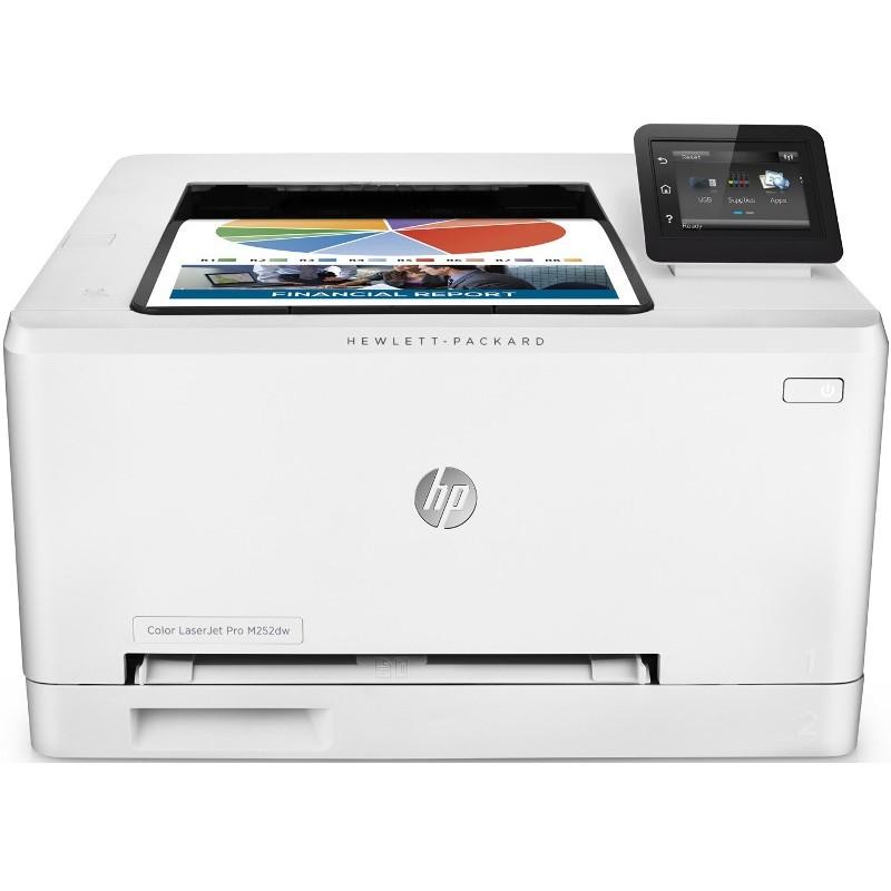 Imprimanta Laser Color Laserjet Pro M252dw Color A4 Duplex Wi-fi