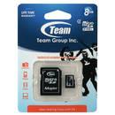 microSDHC 8GB Clasa 4 cu adaptor SD