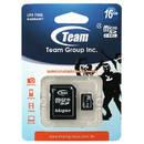 microSDHC 16GB Clasa 4 cu adaptor SD