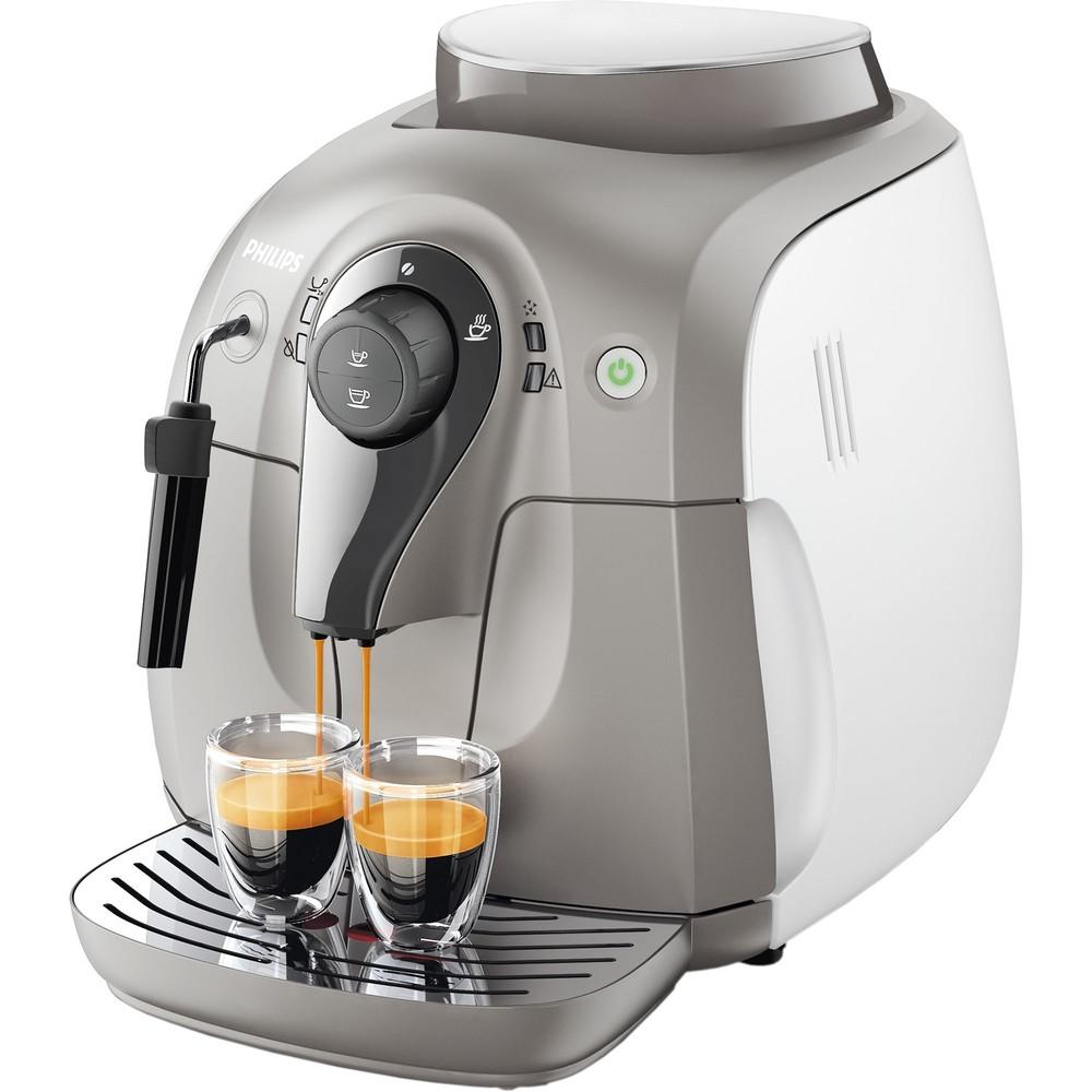 Espressor cafea HD8651/19 2000 Series Super automat 1400W 1l alb thumbnail