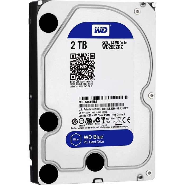 Hard disk Blue 2TB SATA3 64Mb buffer thumbnail