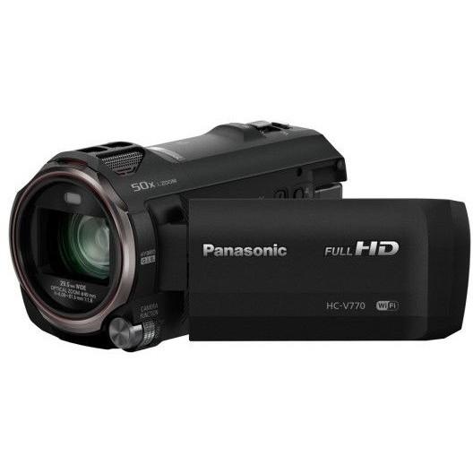 Camera video HC-V770EP-K Full HD Wi-Fi NFC Black