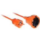 URZ3244 1 priza 10m portocaliu