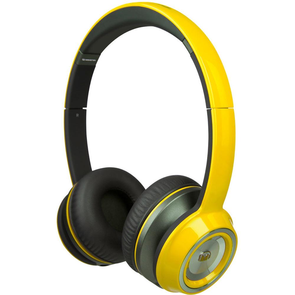 Casti Ntune Hd Solid Yellow
