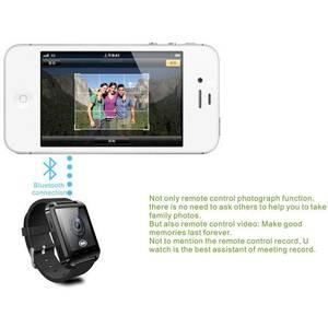 Smartwatch Cronos U8 Alb