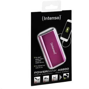 Acumulator extern Intenso Power Bank A5200 5200 mAh pink