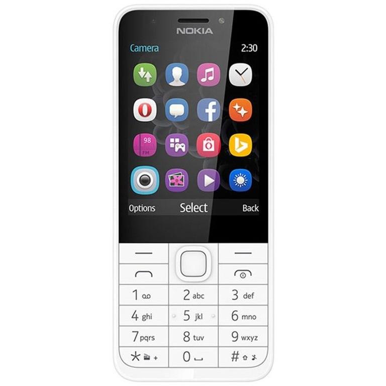 Telefon Mobil 230 Single Sim Silver