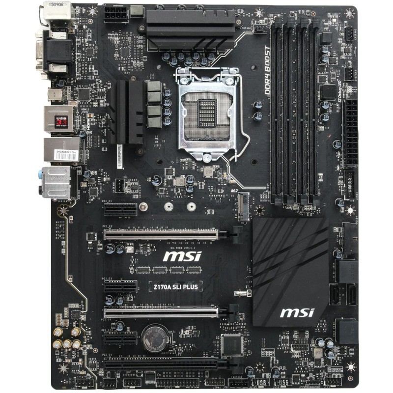 Placa De Baza Z170a Sli Plus Intel Lga1151 Atx