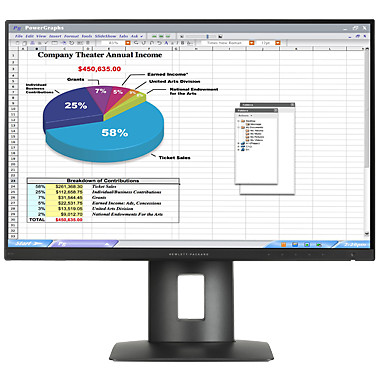 Monitor LED Z24n 24 inch 8ms Black thumbnail