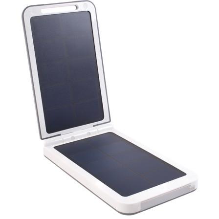 Baterie Externa Cu Incarcare Solara 6000 Mah Argintiu