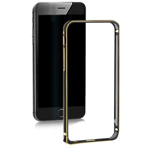 Bumper Aluminum negru pentru Apple iPhone 6 Plus