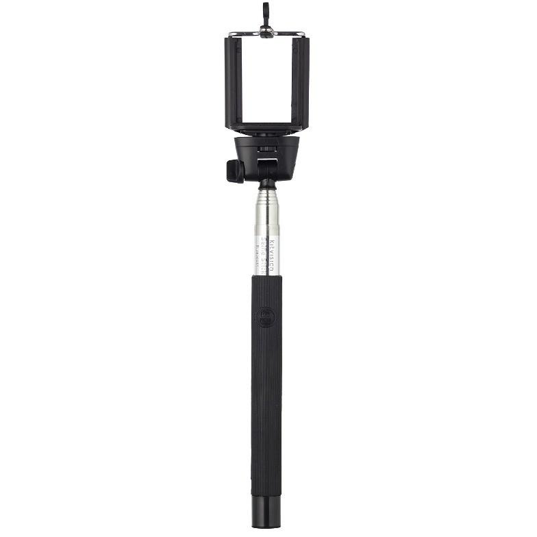 Selfie Stick BABTSSPHBK Basic extensibil cu control actionare shutter pe bluetooth negru thumbnail