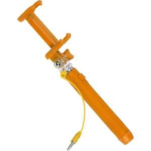 Selfie Stick Kitvision KVPKSSWOR portocaliu extensibil de buzunar cu control actionare shutter pe fir