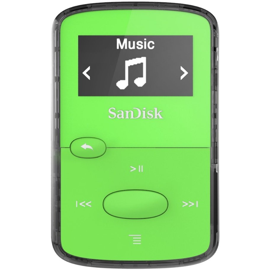 MP3 Player Clip Jam 8GB Green thumbnail