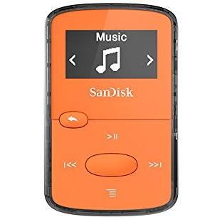 Mp3 Player Clip Jam 8gb Orange