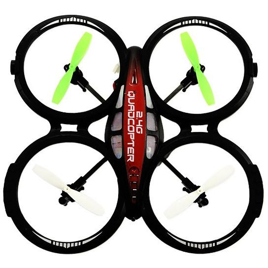 Drona Dron Quadrocopter Flying Air Nano Black Spy Vs145373