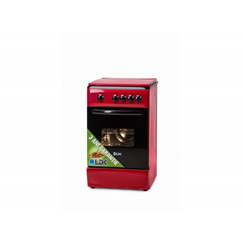 Aragaz 5060 Red Lpg Gaz 4 Arzatoare Rosu