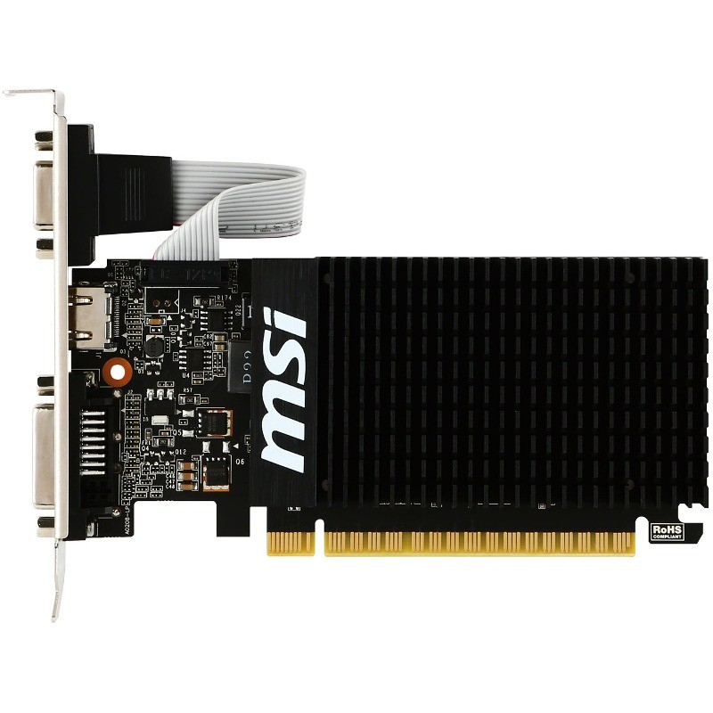 Placa video nVidia GeForce GT 710 Silent 1GB DDR3 64bit low profile thumbnail