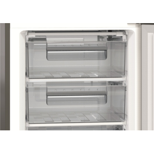 Combina frigorifica Albatros CFX39A+ 312 Litri Clasa A+ Inox/Silver