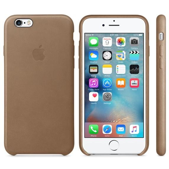 Husa Protectie Spate Leather Case Maron Pentru Tiphone 6s
