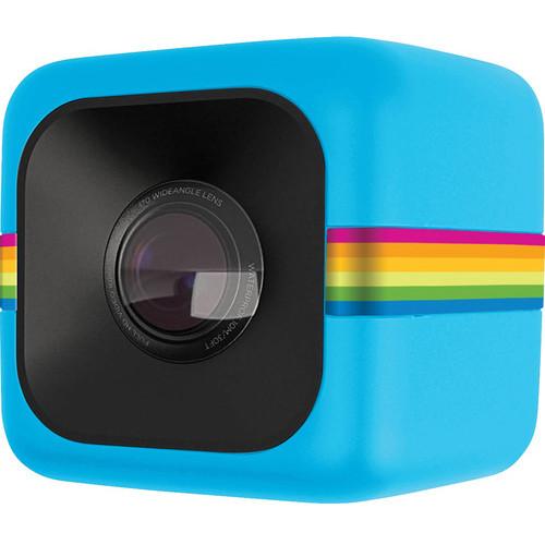Camera Video De Actiune Sport Cube Full Hd Albastru