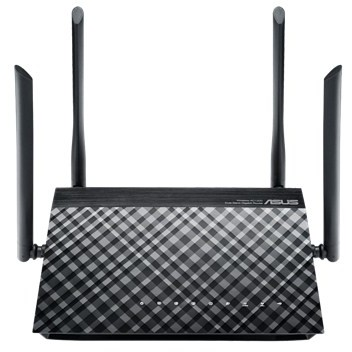 Router wireless RT-AC1200G+ Dual Band Gigabit Black thumbnail