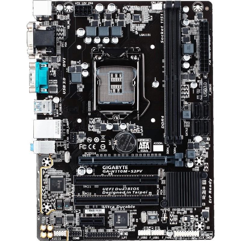 Placa de baza H110M-S2PV Intel LGA 1151 mATX thumbnail