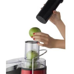 Storcator de fructe si legume Heinner TurboMax 1000 negru / rosu