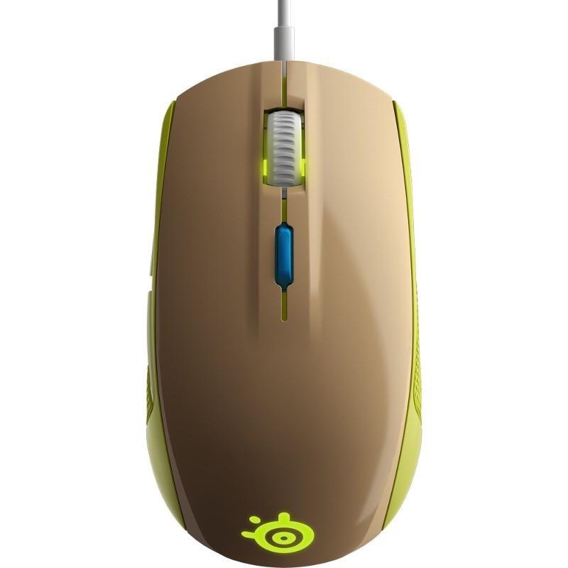Mouse Gaming Rival 100 4000 Dpi Gaia Green