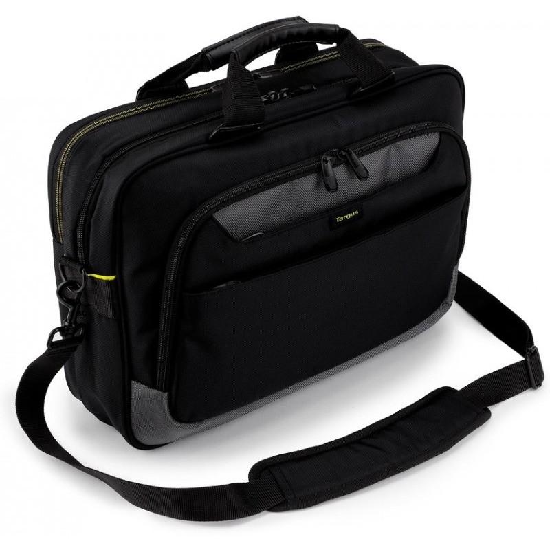 Geanta laptop City Gear Topload 17.3 inch neagra thumbnail