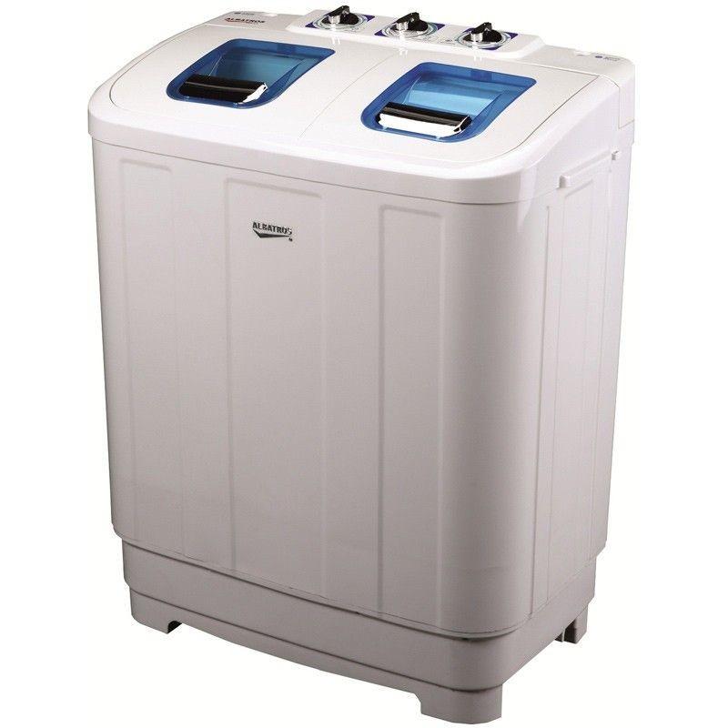 Masina de spalat rufe semiautomata WMS 5.5 6kg cu storcator alba