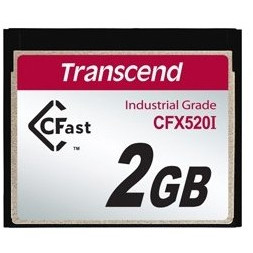 Card Industrial Grade CFast X520I 2GB SATA II thumbnail