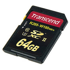 Card Transcend SDXC 64GB Clasa 10 UHS-II U3
