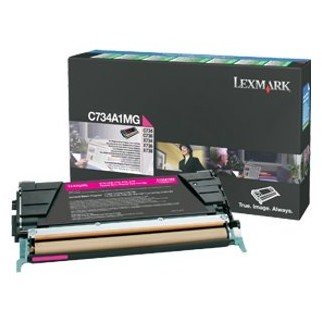 Toner C734a1mg Magenta Return