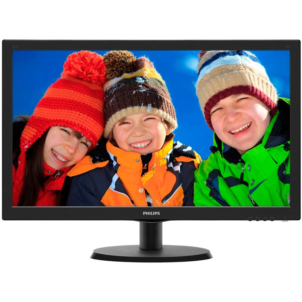 Monitor LED 223V5LHSB 21.5 inch 5ms Black thumbnail