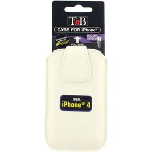 Toc TnB IPH46W Class Collection alb pentru Apple iPhone 3G / 4