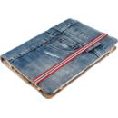 19482 Jeans Folio Stand Blue Denim pentru 10 inch