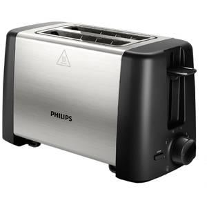 Prajitor de paine Philips HD4825/90 800W 2 felii Negru/Inox