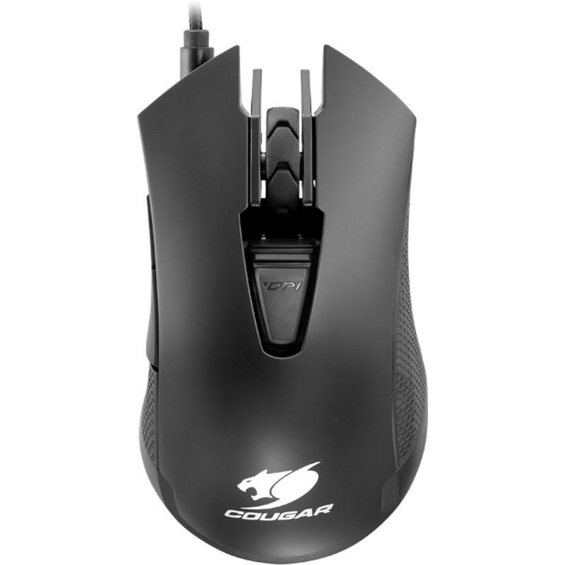 Mouse gaming 500M Black thumbnail
