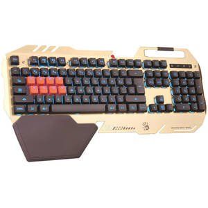Tastatura gaming A4Tech Bloody B418 gold