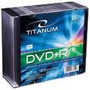 DVD-R TITANUM 4.7GB 8x 10 bucati carcasa