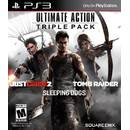 Ultimate Action Pack Just Cause 2 Sleeping Dog Tomb Raider  PS3