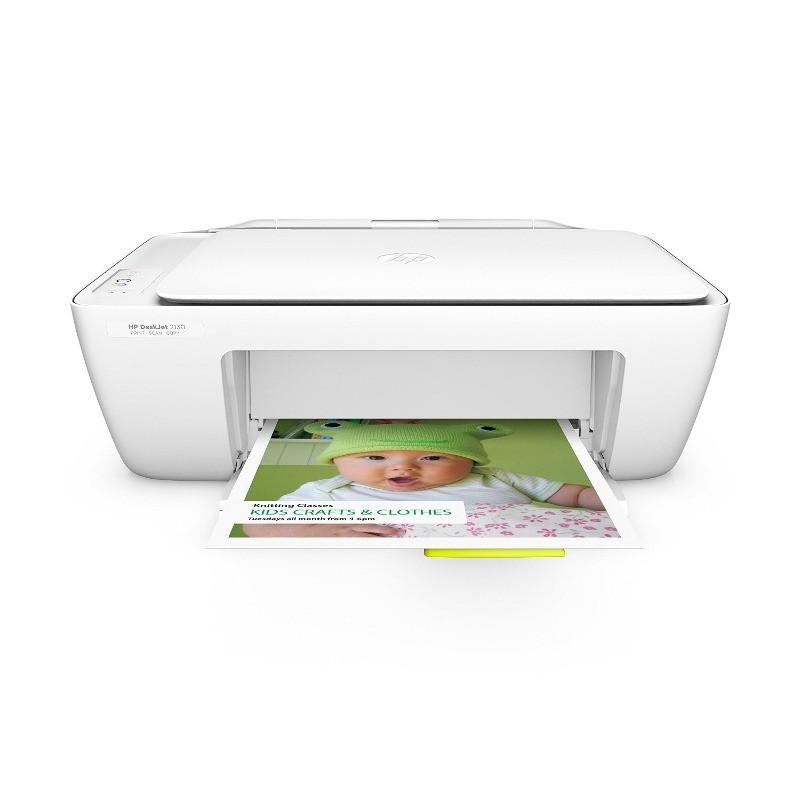 Multifunctionala DeskJet 2130 All-in-One Inkjet Color Format A4 Alba thumbnail