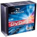 DVD-R TITANUM 4.7 GB 8x 10 bucati carcasa