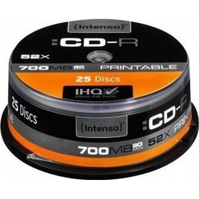 Mediu optic CD-R 700MB 25 bucati Printabil thumbnail