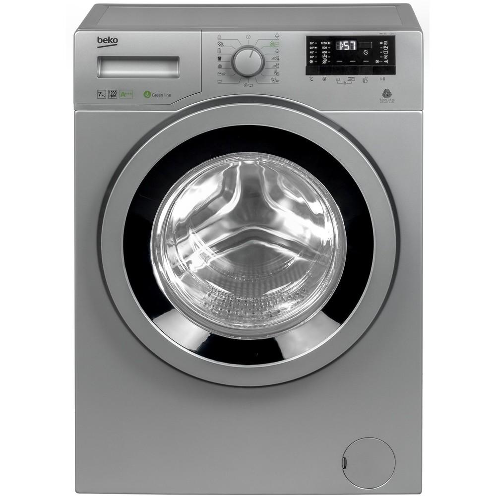 Masina de spalat rufe WKY71233LSYB2 A+++ 1200 rpm 7kg argintie thumbnail