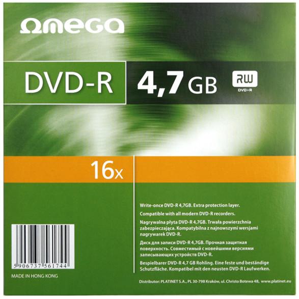 Mediu optic DVD-R 4.7GB 16x 10 bucati thumbnail