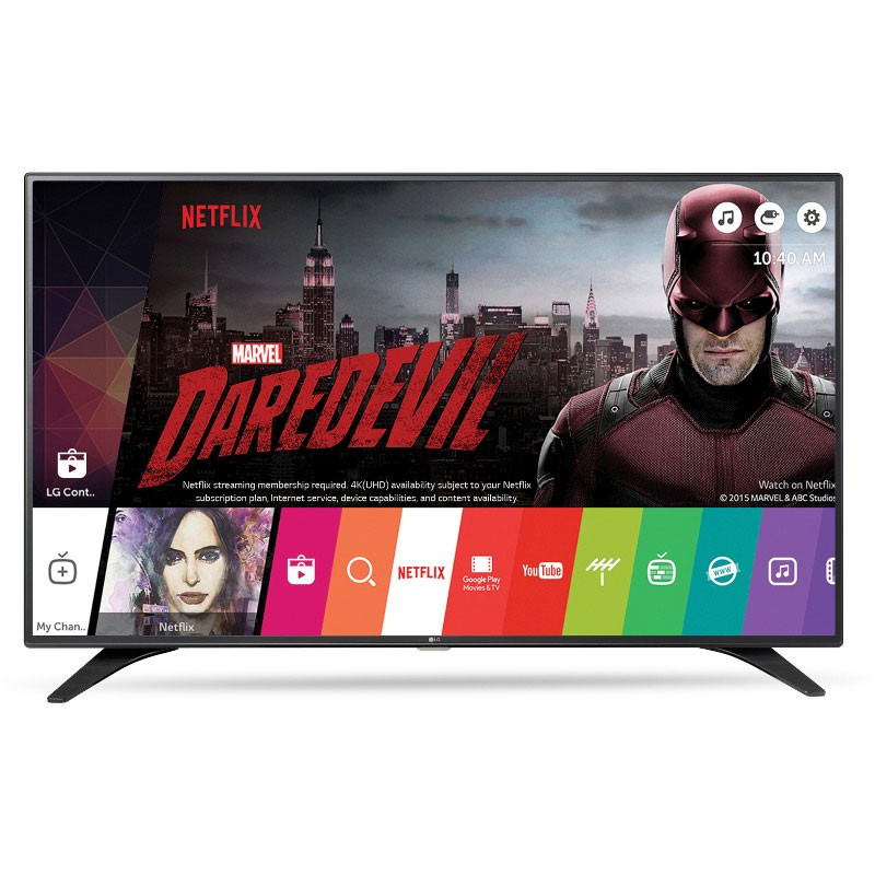 Televizor Led Smart Tv 49 Lh6047 124cm Full Hd Black