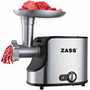 Pachet masina de tocat ZMG 06 + accesoriu storcator rosii ZJAMG 04 + accesoriu storcator lent ZSJA 01 si accesoriu razatoare Zass ZVSA 01